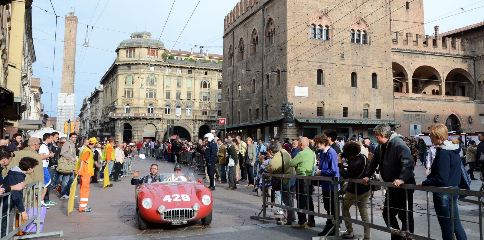 La Mille Miglia torna a Bologna