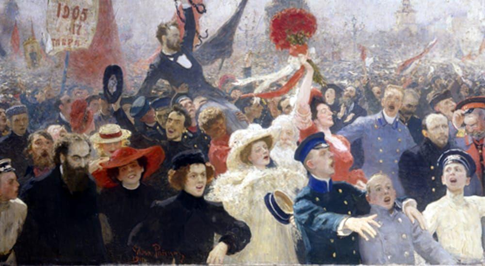 Kandisky e Chagall raccontano la Rivoluzione russa