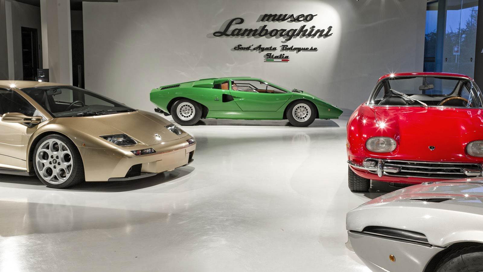 Lamborghini: la storia e la leggenda nel Museo di Funo di Argelato