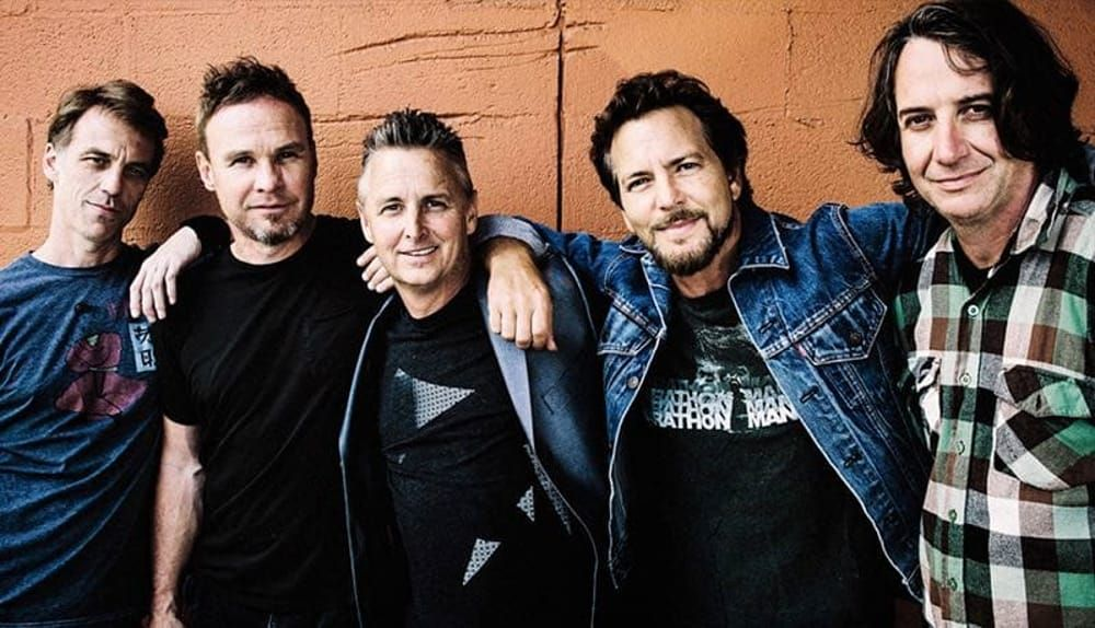 Unico concerto in Italia dei Pearl Jam